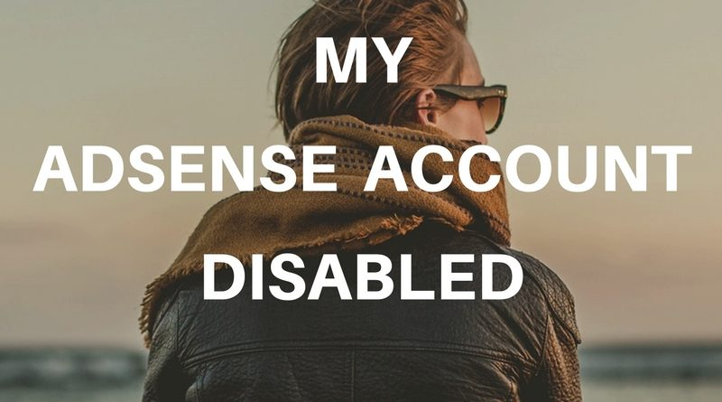 Adsense account disabled facebook