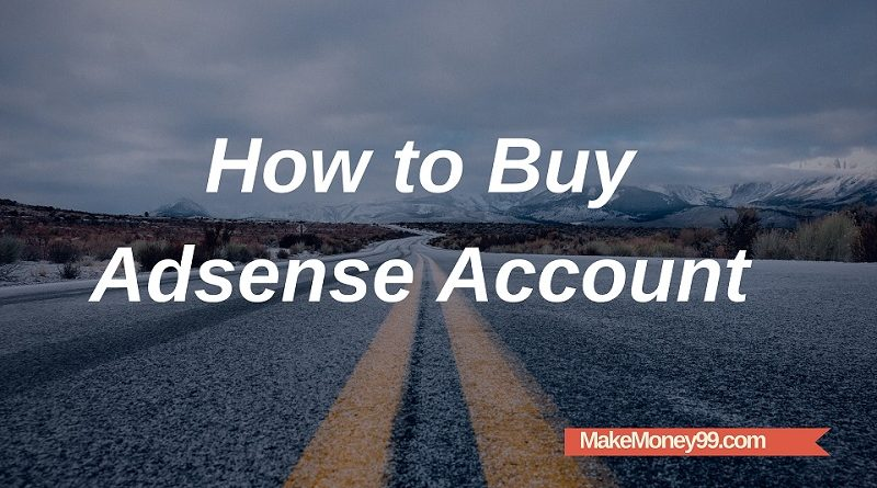 How to buy Google Adsense account