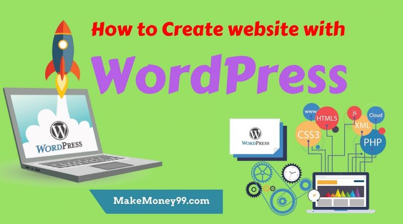 How to Create a WordPress Website – Step by Step Beginners Guide